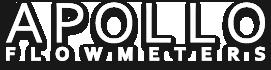 Apollo logo white
