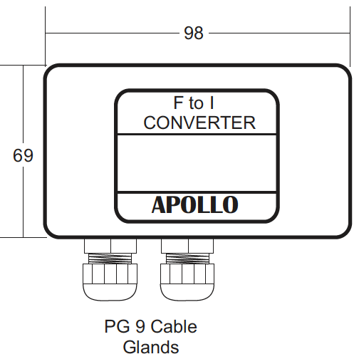 Frequency to current converter