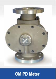 OM Positive Displacement Flowmeter